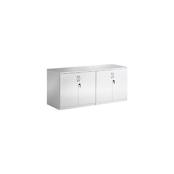 White Lumina High Gloss Credenza Unit