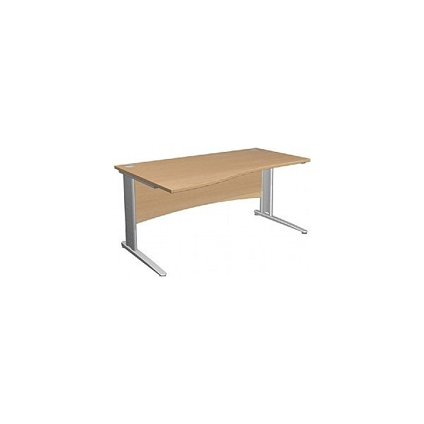 NEXT DAY Gravity Executive Wave Cantilever Desk