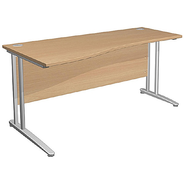 NEXT DAY Gravity Standard Shallow Wave Cantilever Desk