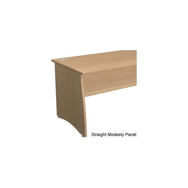 NEXT DAY Gravity Contract Panel End Rectangular Desk