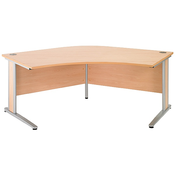 NEXT DAY Gravity Deluxe Delta Cantilever Desk