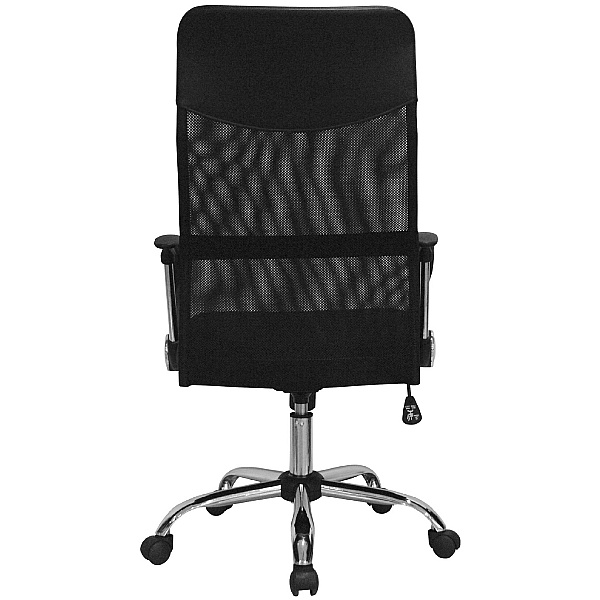 Aster High Back Mesh Office Chair - Black