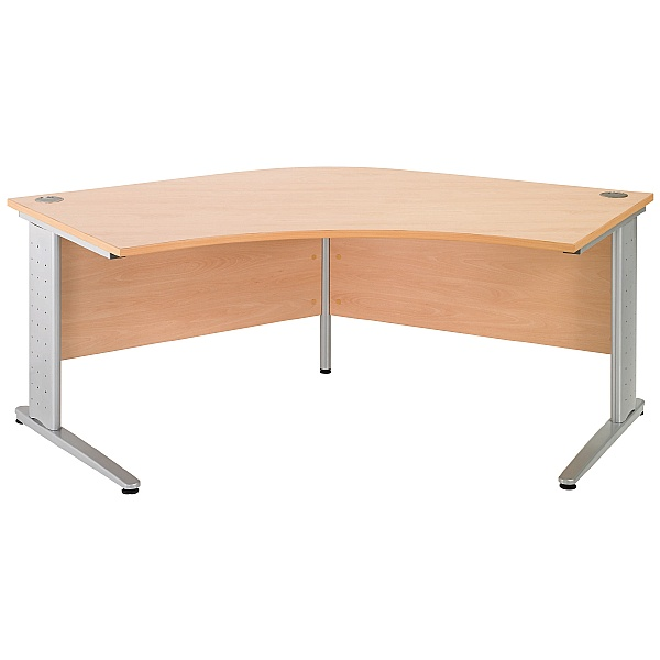 NEXT DAY Gravity Executive Delta Cantilever Desk