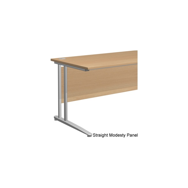 NEXT DAY Gravity Standard Shallow Rectangular Cantilever Leg Desk