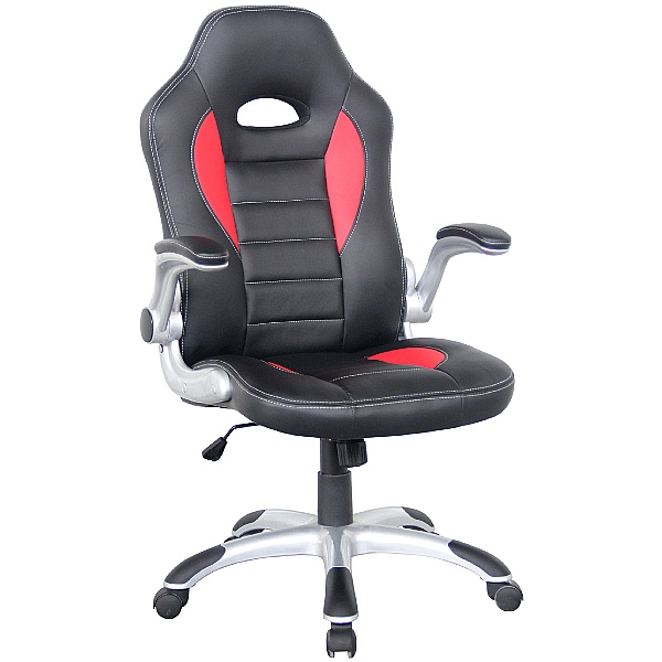 Rocaro Leather Faced Office Chair