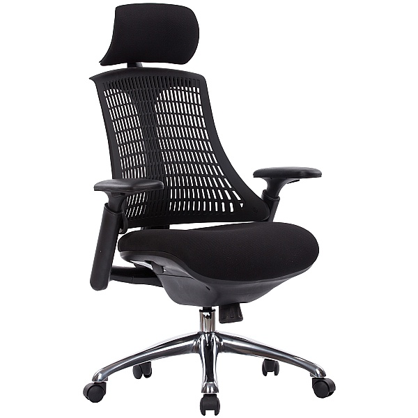 Flash Ergonomic Task Chair With Headrest