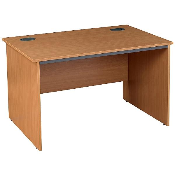 Nova Plus Rectangular Panel End Desks