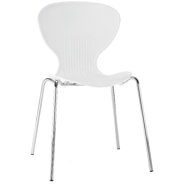 Curve Polypropylene Bistro Chair