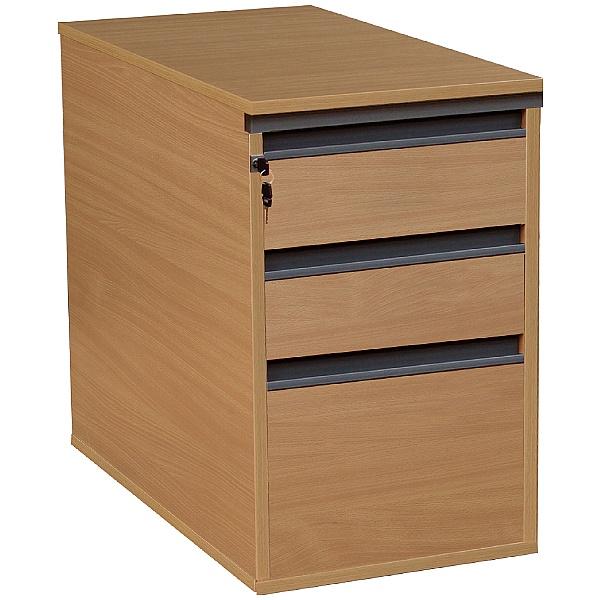 Nova Plus Desk High Pedestals