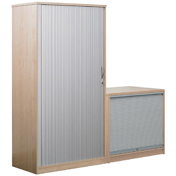 Nova Tambour Door Cupboards