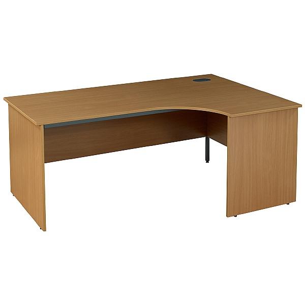 NEXT DAY Nova Plus Ergonomic Panel End Desks