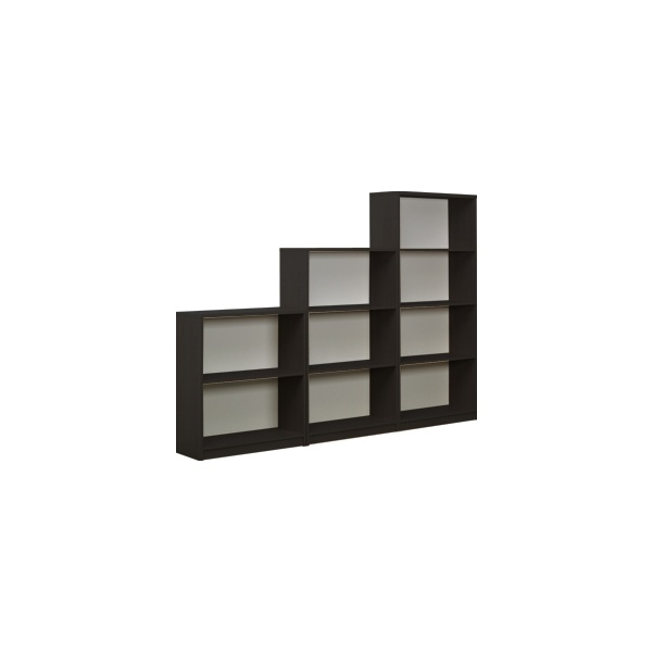 Next Day Eclipse Black Bookcases