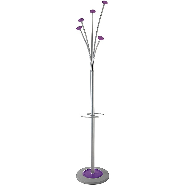 Purple Coat Stand