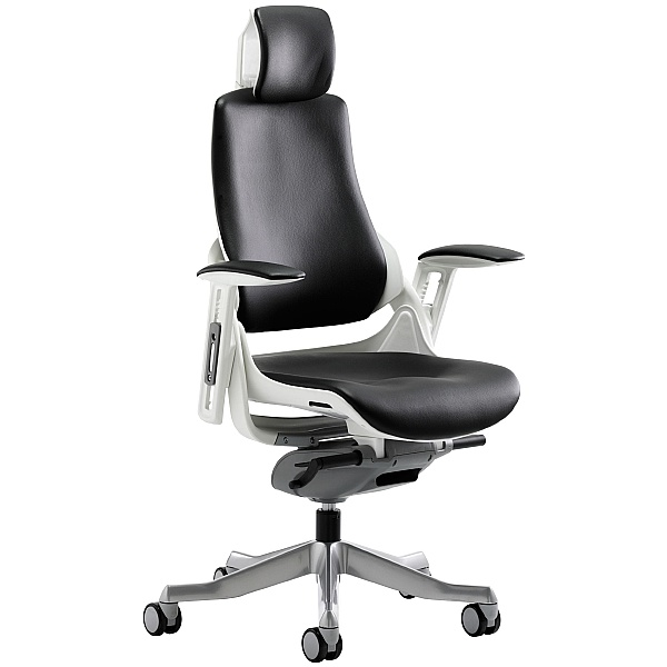 Jett Enviro Leather Task Chair With Headrest