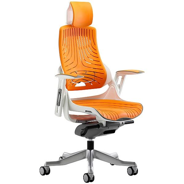 Jett Elastomer Task Chair With Headrest