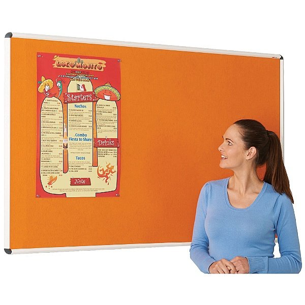ColourPlus Aluminium Framed Shield Noticeboards