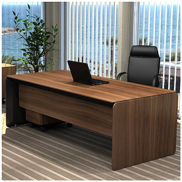 BN eRange Rectangular Managerial Desk
