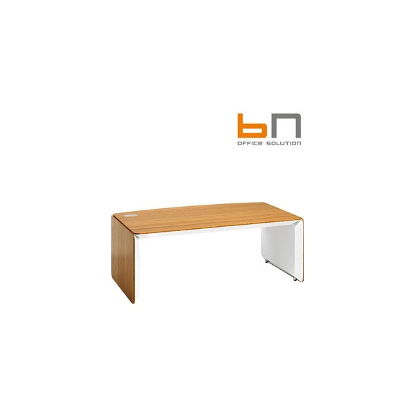BN eRange Bow Fronted Managerial Desks