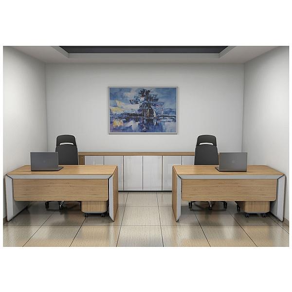 BN eRange Modesty Panels For Desks Without Side Board