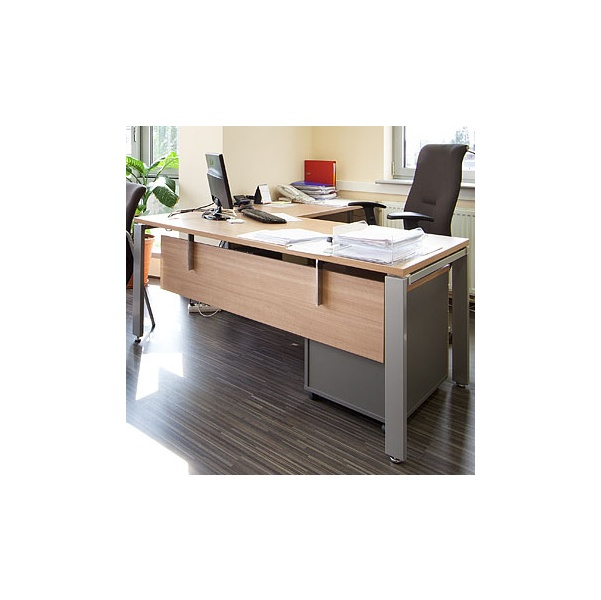 BN Primo Space Veneer Extension For Rectangular Desks