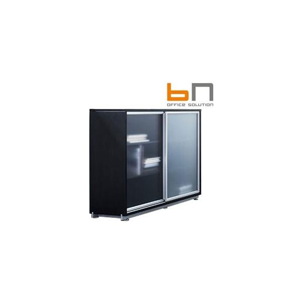 BN Primo Space Veneer Sliding Glass Door Cabinets