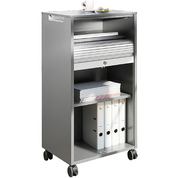 BN Primo Space Mobile Tambour Storage Caddy