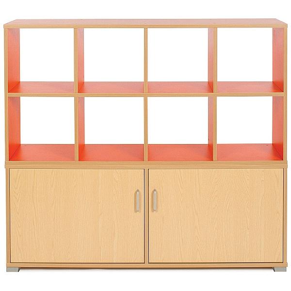 Bubblegum 8 Cube Room Divider Unit