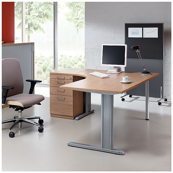 BN Easy Space Vertical Wire Trunking For Cantilever Desks