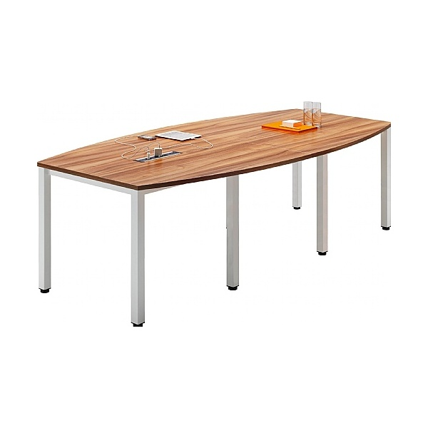 BN Easy Space Barrel Conference Tables - Square Legs