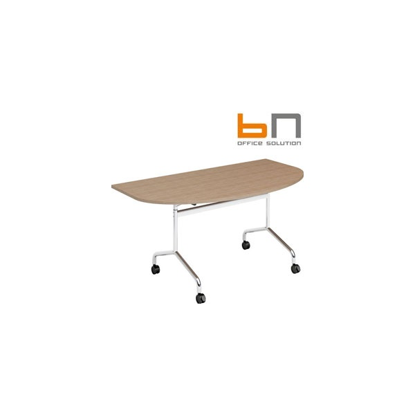BN Flib Modular D-Shaped Folding Meeting Tables