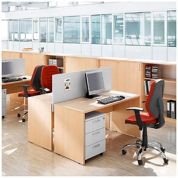 BN Easy Space Rectangular Panel End Desks
