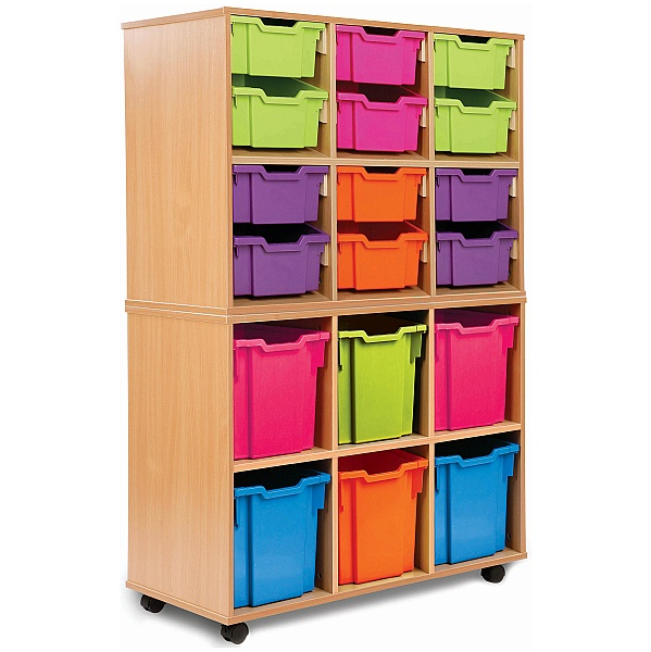 Storage Allsorts 6 Jumbo Tray Unit