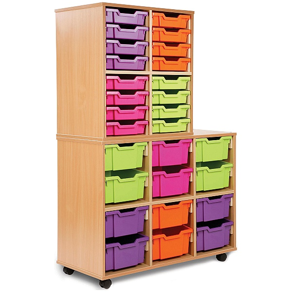 Storage Allsorts 12 Deep Tray Unit