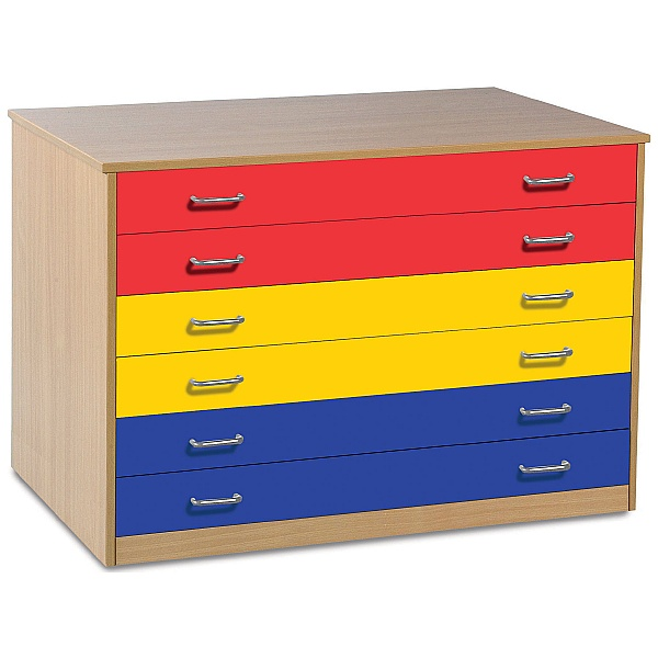 A1 Paper Coloured Plan Chest