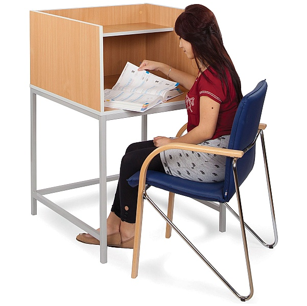 Study Carrel H-Leg