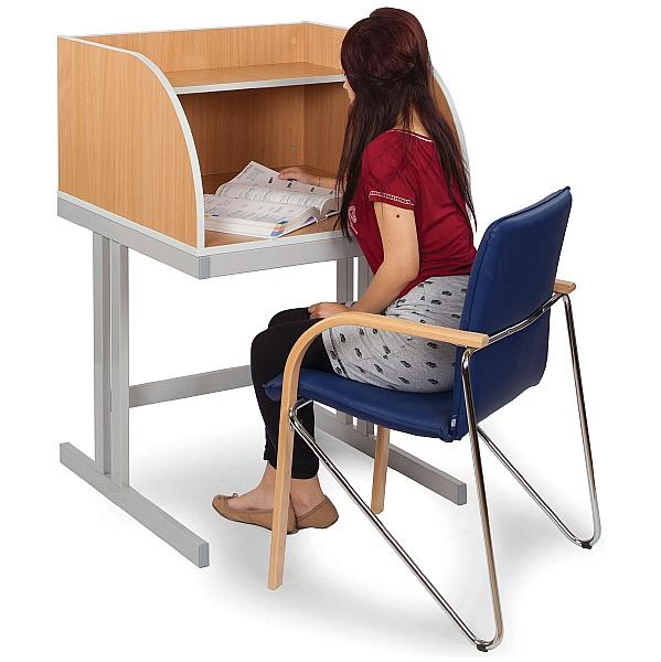 Study Carrel Cantilever Leg