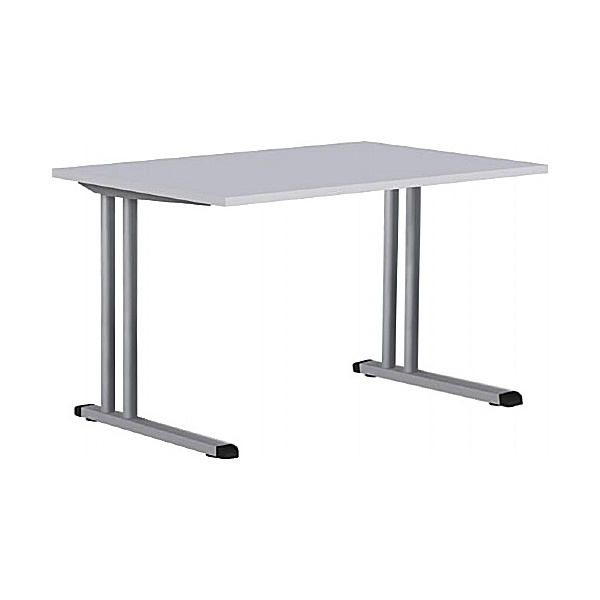 BN Easy Space Height Adjustable Rectangular Desks - Cantilever Legs