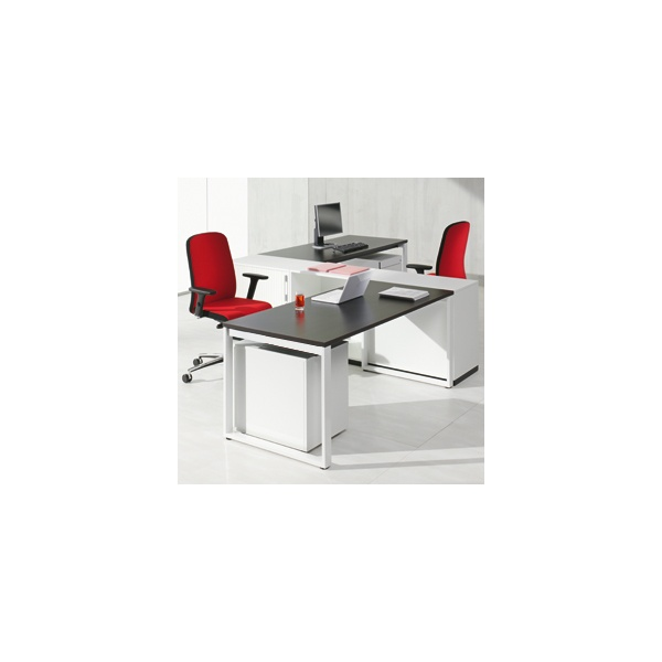 BN SQart Workstation O Leg Rectangular Desks