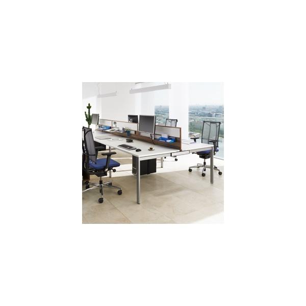 BN SQart Workstation 4 Leg Modular Bench Desks