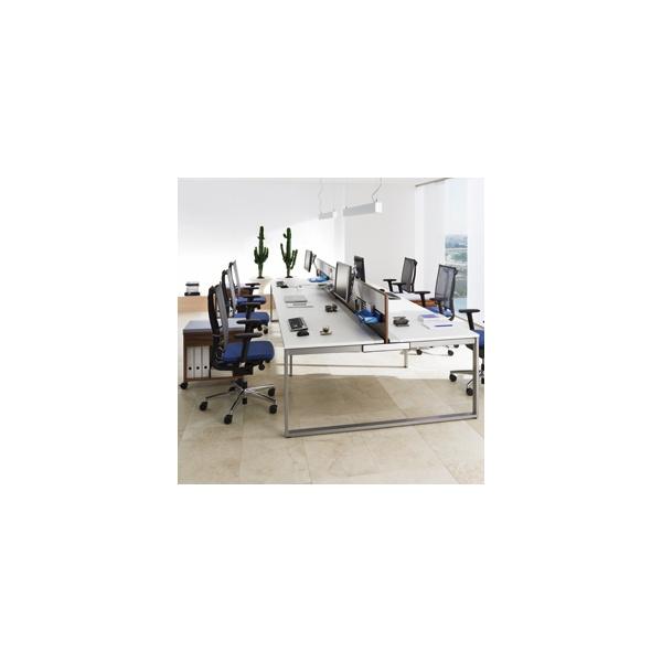 BN SQart Workstation O Leg Modular Bench Desks