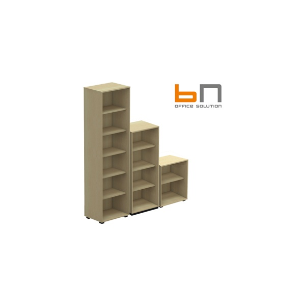 BN SQart Workstation Narrow Bookcase