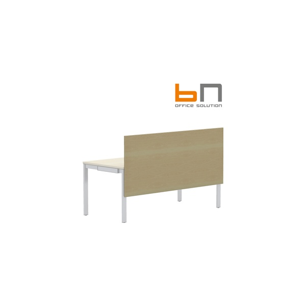 BN SQart Workstation One Piece Wooden Screen And Modesty Panel