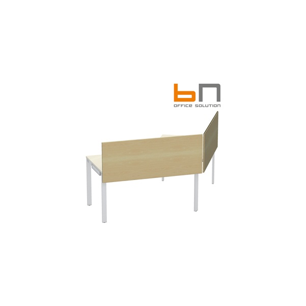 BN SQart Workstation Wooden Desktop Screen For Cluster Desks