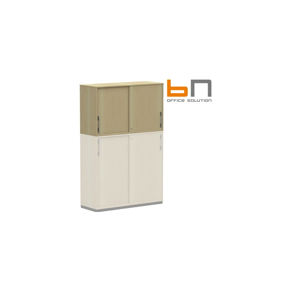 BN SQart Workstation Upper Sliding Door Cabinets