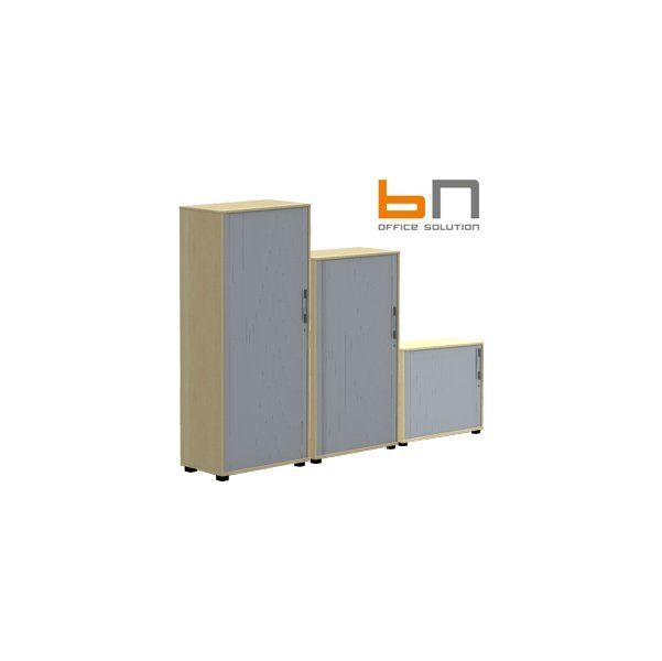 BN SQart Workstation Tambour Door Cupboards