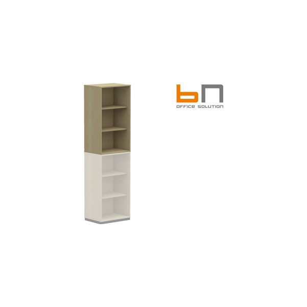 BN SQart Workstation Narrow Upper Bookcases