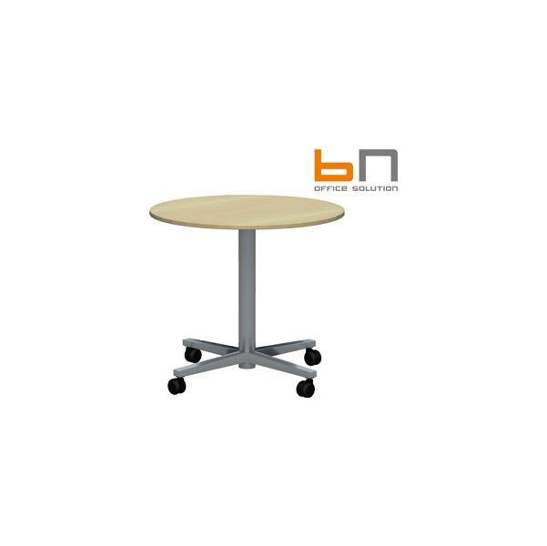 BN SQart Workstation Round Mobile Tables