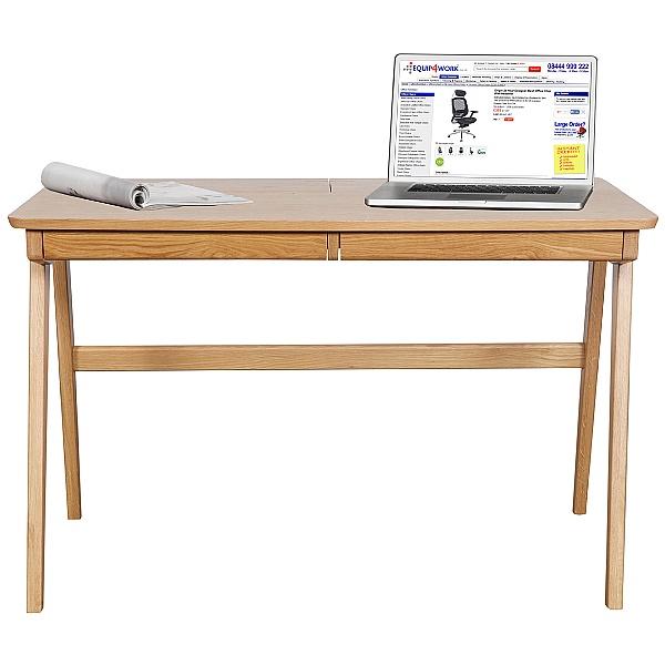 Saxon Solid Ash Computer Desk
