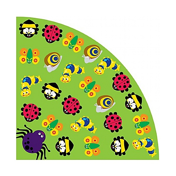 Back To Nature Bugs Large Corner Carpet