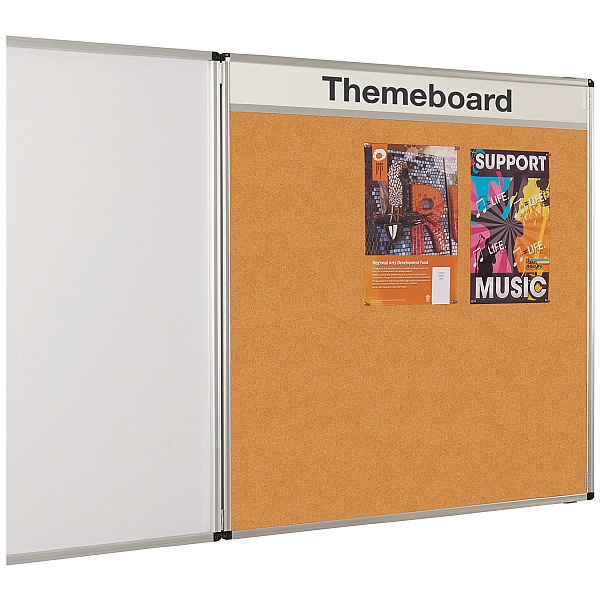 Themeboard Tamperproof Cork Noticeboard